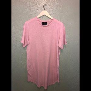 Pink PacSun extra long t-shirt